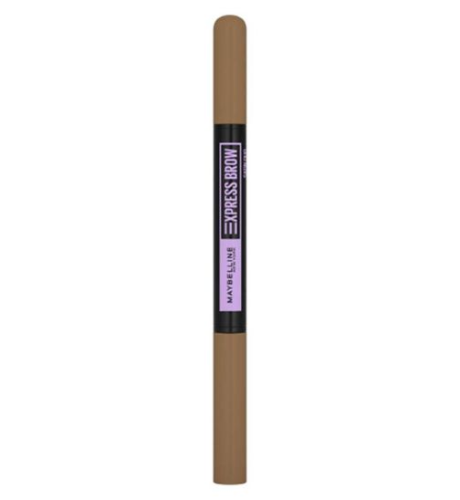 Maybelline Express Brow Duo Eyebrow Filling, Natural Looking 2-In-1 Pencil Pen + Filling Powder