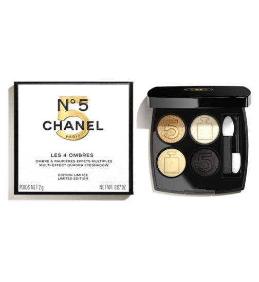 CHANEL LES 4 OMBRES N°5 LIMITED EDITION - N°5 Holiday 2021 Collection Multi-Effect Quadra Eyeshadow