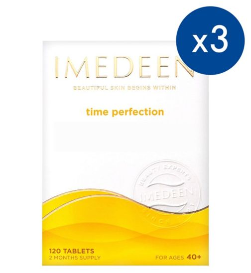 Imedeen Time Perfection - 120 Tablets;Imedeen Time Perfection 120 Tablets;Imedeen Time Perfection 6 month Supply