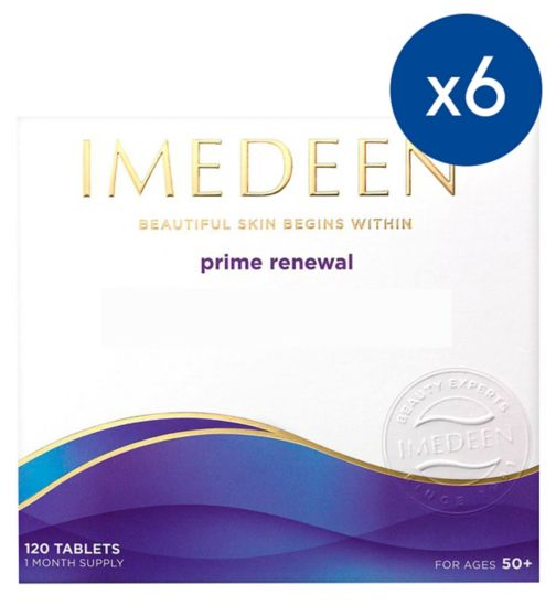 Imedeen Prime Renewal - 120 Tablets;Imedeen Prime Renewal 120 tablets;Imedeen Prime Renewal 6 month Supply
