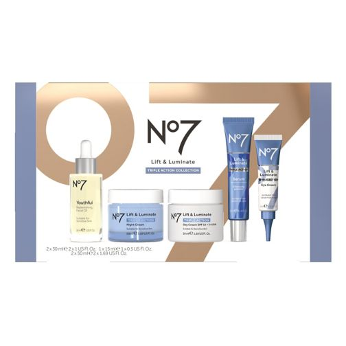 No7 Lift & Luminate Triple Action Collection Gift Set