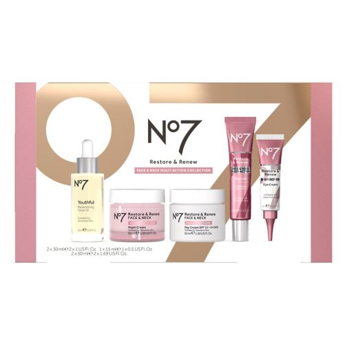 No7 Restore & Renew Face & Neck Multi-Action Collection Gift Set