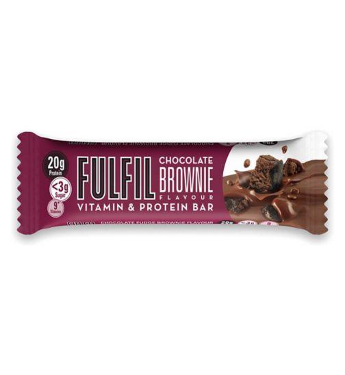 Fulfil Chocolate Brownie Flavour Vitamin & Protein Bar 55g